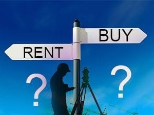 Survey Equipment - To Buy or Rent