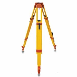 WDF20 Wood/Fiberglass Quick-Clamp Tripod, Orange Hardware