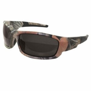 Canon Safety Glasses, Forest Camo with Non-Polarized Smoke Lens