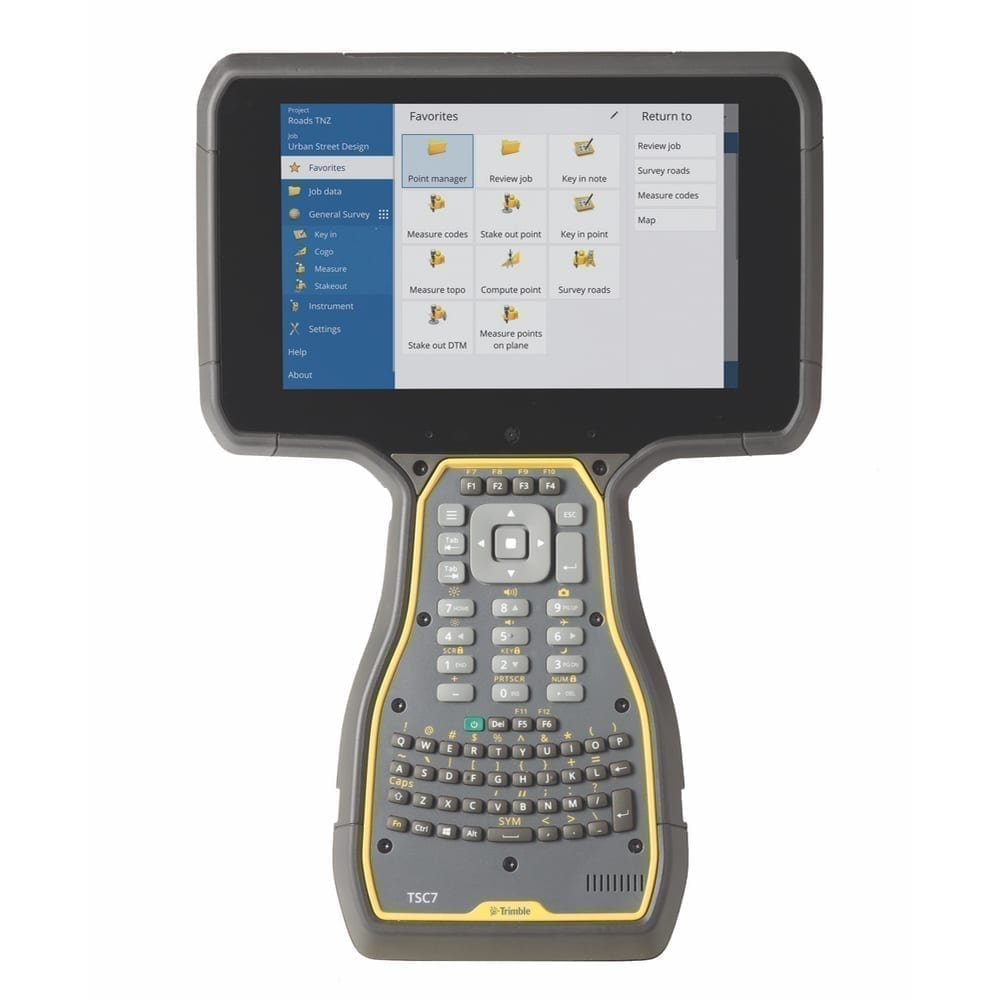 """New Trimble TSC7 Controller with 7"""" Screen and Windows 10 ..."""