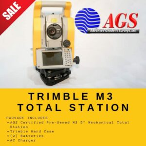 Trimble M3 Total Station | Land Surveying Equipment | AGS