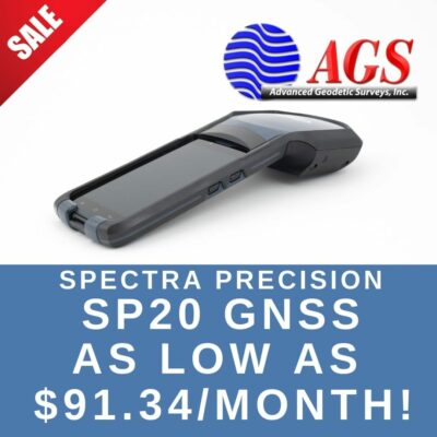 Spectra Precision SP20   Land Surveying Equipment   AGS