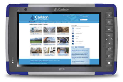 Carlson RT4 Rugged Tablet